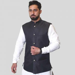 Stylish Grey Waist Coat Premium Quality For Men