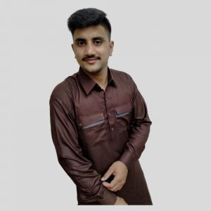 Brown Mens Shalwar Kameez With Shirt Collar (Mens shalwar kameez price in Pakistan)